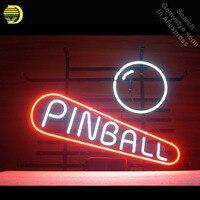 Pinball Game Room Neon Sign neon bulb Sign Glass Tube Custom BRAND neon light Recreation room Outdoor Iconic Sign arcade lamp