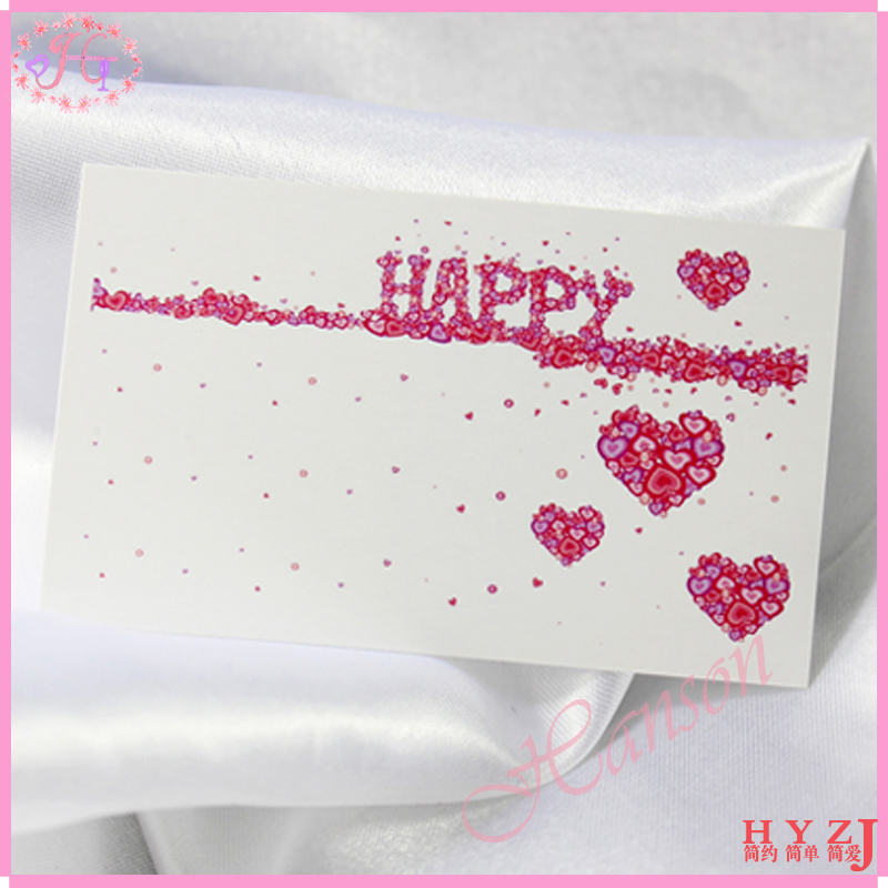 Aliexpress Buy Fashion Promotion Gift Personalized Small – Birthday Message Card