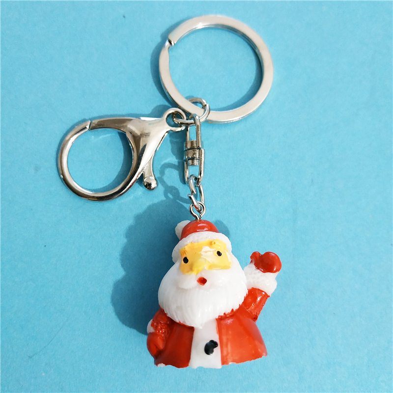 Christmas Santa Claus Glove Snowman KeyChain Girls Lovely Red Festival  Gifts for Women Wholesale Keyring Chaveiro Jewellery-in Key Chains from  Jewelry ... 3960827820