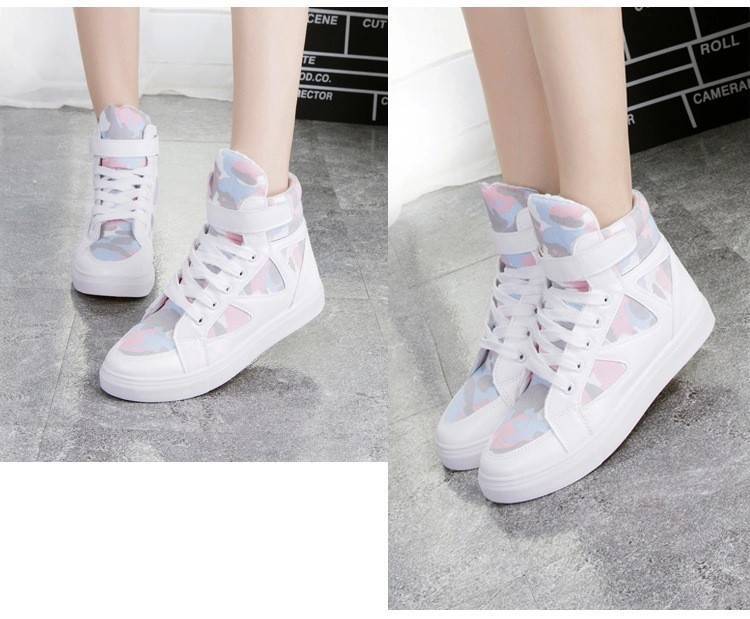 LOVE Fashion High Top Casual Shoes For Women Canvas Shoes 2015 New Autumn Ankle Boots Breathable Ladies Shoes Student Flats YD28 (5)