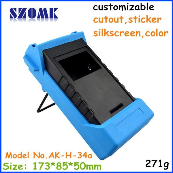 handheld plastic cases electronics project box (1 pcs) 173*85*50mm junction box enclosure desktop, szomk distribution box