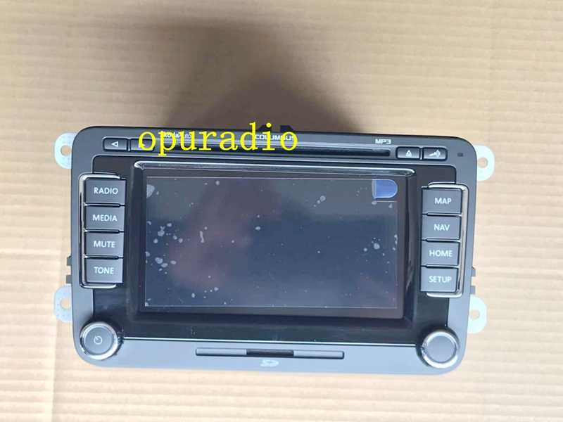 rns 510 vw radio golf 4 golf 5 6 touran passat B6 sharan