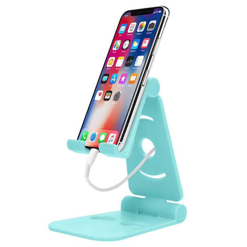Supporto del telefono Del Basamento per il iphone 8X7 6 Pieghevole Basamento Del Telefono Mobile per Samsung Galaxy S9 S8 Supporti tablet Scrivania supporto del telefono Del Telefono