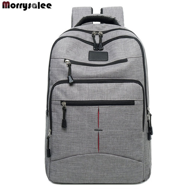 a0d874a5ae 2018 New Men s Backpack Bag Male Polyester Laptop Backpack Computer Bags  High School Student College Students Bag Male Travel
