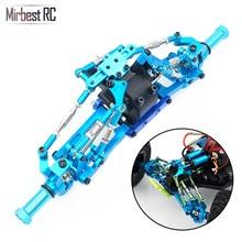 Mirbest RC DIY Parts For Wltoys 12428 12423 JJRC Q46 car Metal parts Upgrade accessories gear wave box Rocker arm