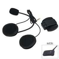 Speaker Headphone Earphone Helmet Headset V6&V4 Motorcycle Holder Sale Ideal Giftblack ABS 1.73 inch