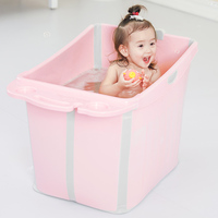 Baby Tub Folding Large Swimming Baby Bath Barrel Children Bathing Barrel Bath Barrel Child Bath Tub