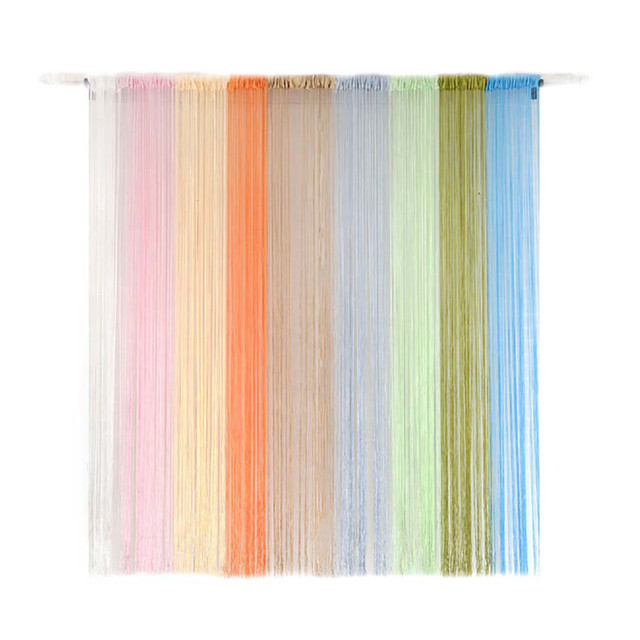String Curtains Patio Net Fringe For Door Fly Screen Windows Divider Tel Line Sheer Curtain Valance Home D Ecoration