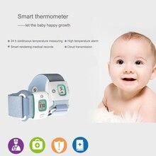 Baby gesundheit smartband tragbare geräte smartwatch elektronische bluetooth smart baby monitor fitness tracker thermometer