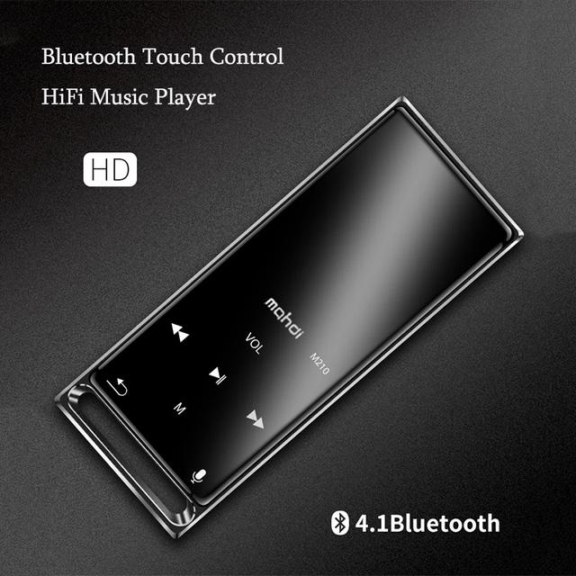 Mahdi M210 16GB luetooth MP3 Player Pedometer Sports CNC Metal Lossless HiFi Fever Music Player Portable Player FM Radio