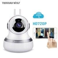 LOBO TRINIDAD 720 P Nuvem IP Câmera Wi-fi PT Segurança Night Vision IR Áudio Bidirecional Inteligente de Vigilância CCTV Sem Fio Da Câmera IP P2P