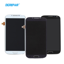 Negro Blanco Azul Para Samsung Galaxy S4 i9505 LCD de Pantalla Táctil Digitalizador Asamblea Completa + Bisel Del Capítulo del Envío libre