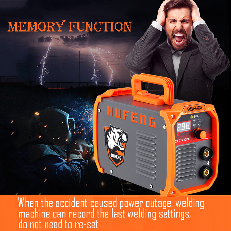 Smart Memory Welding machine MMA IGBT AC 220V inverter Professional Welder/Equipment/Device 200A ARC Welders new mini 220v 110v dual voltage protable 2 5kg 3 2mm electrode igbt inverter dc welding machine equipment tools with accessory
