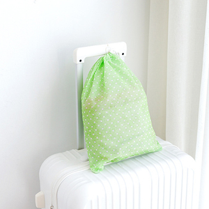 Image 4 - 1 sztuk wodoodporne włókniny pojemnik organizator buta torba do przechowywania ubrań podróży sznurkiem torby tkaniny bielizna buty otrzymać torby