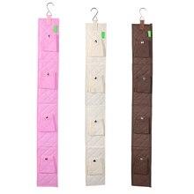 hanging handbag closet organizer purse storage 6 hook bag rack