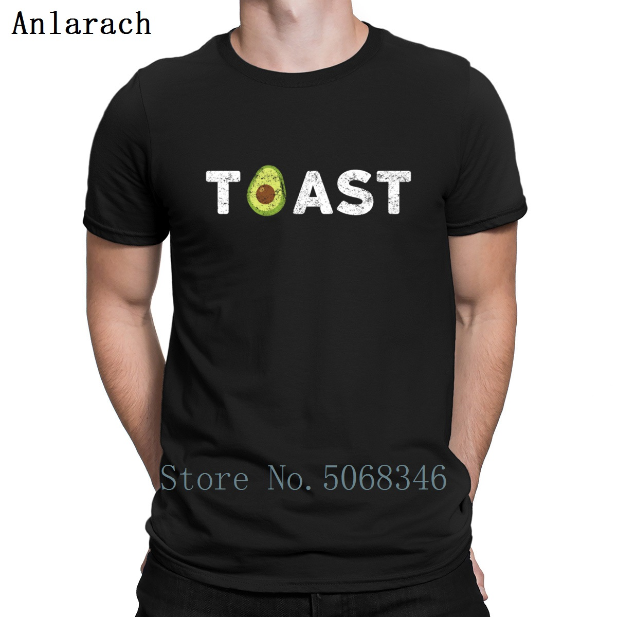 Keto Avocado Toast Funny Design T Shirt Customize Size S-3xl Sunlight Summer Style Authentic Standard Letters Tee Shirt Shirt
