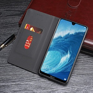 Image 3 - Case For Honor 8X Max Case Cover Hight Quality Retro Flip Leather Case For Huawei Honor 8X Max Cover Business Phone Case