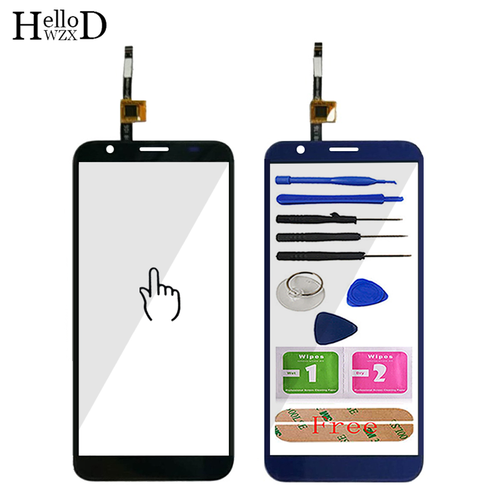 5.5'' Mobile Phone Touch Screen TouchScreen For Doogee X55 X 55 Touch Glass Front Glass Digitizer Panel Lens Sensor 3M Glue