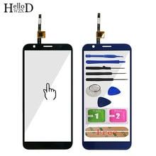 Сенсорный экран 5,5 дюйма для телефона Doogee X55 X 55, сенсорное стекло, переднее стекло, дигитайзер, панель объектива, датчик 3M Glue