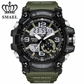 SMAEL Fashion Quartz Watch Men's Watches Top Brand Luxury Analog Digital LED Men Waterproof Sport Wrist Watch Relogio Masculino