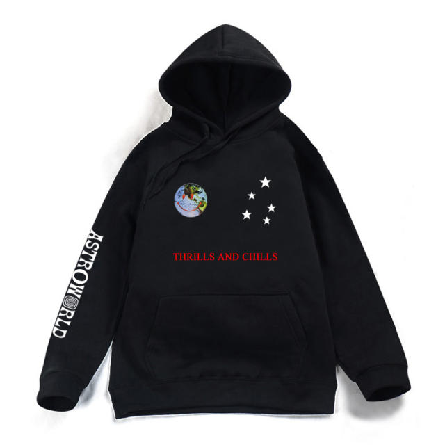 ASTROWORLD THRILLS AND CHILLS HOODIE (2 VARIAN)