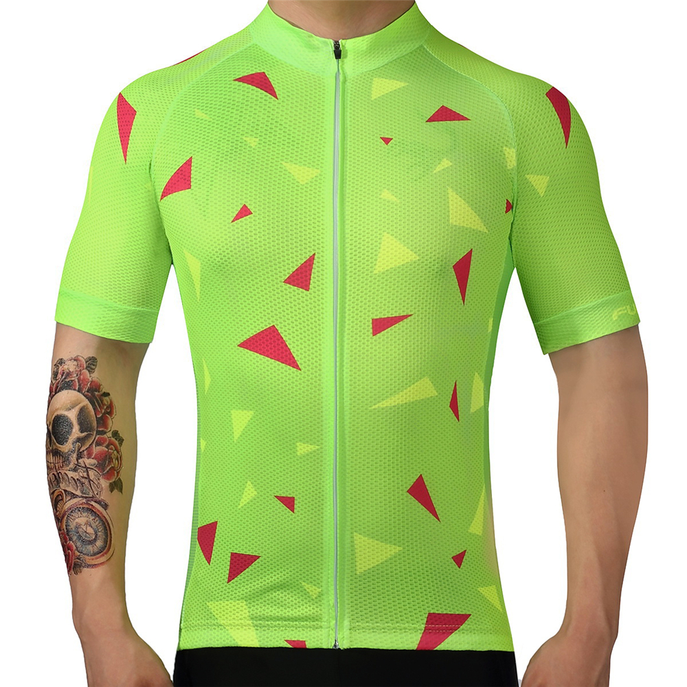 Fualrny Cycling Jersey 2018 Pro Team Men Summer MTB Road Bike Jersey Breathable Cozy Bicycle DH Jersey Cycling Clothing