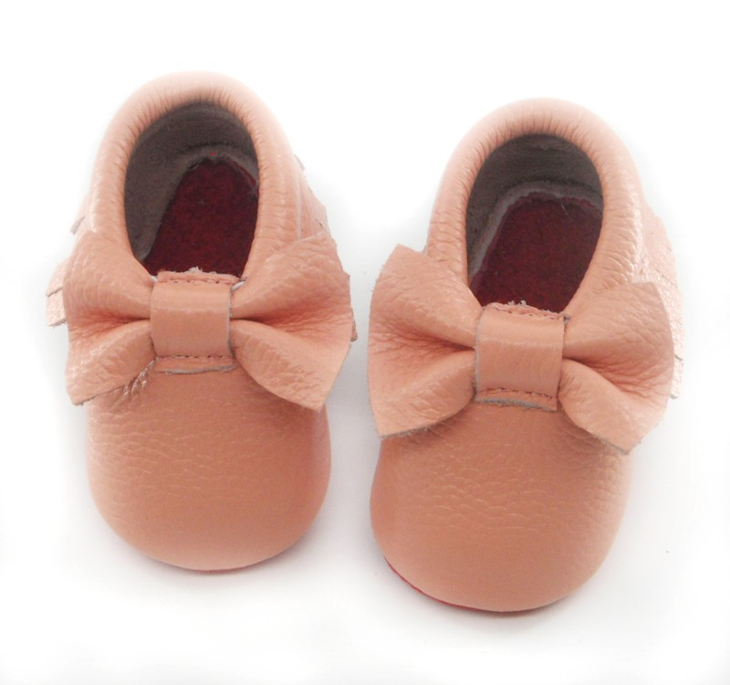 pink bow red sole