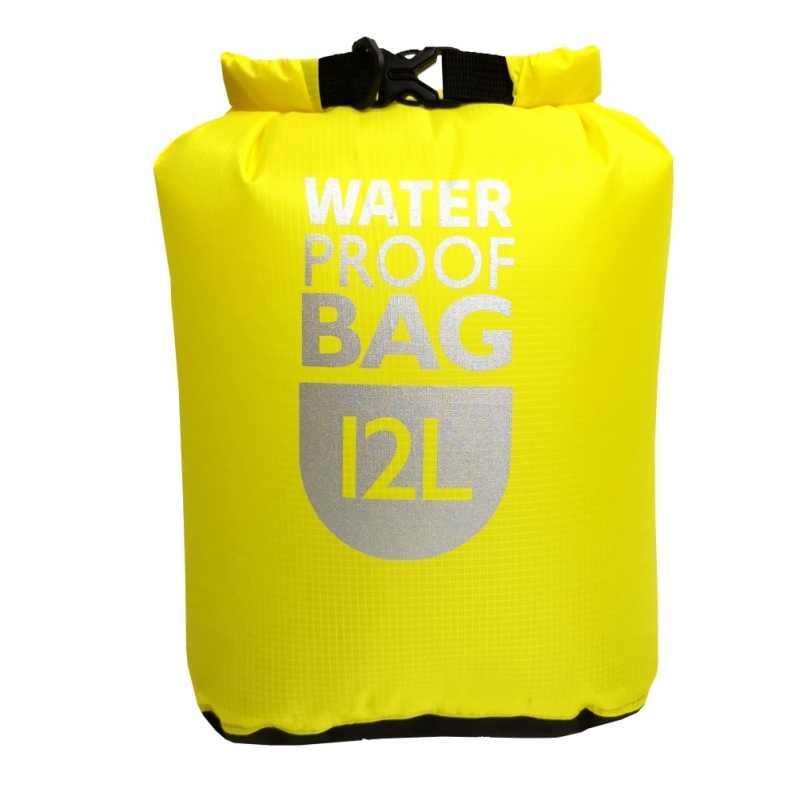 屋外 6L12L 24L 防水ドライバッグパック袋水泳ラフティングカヤック川トレッキングフローティングセーリング Canoing