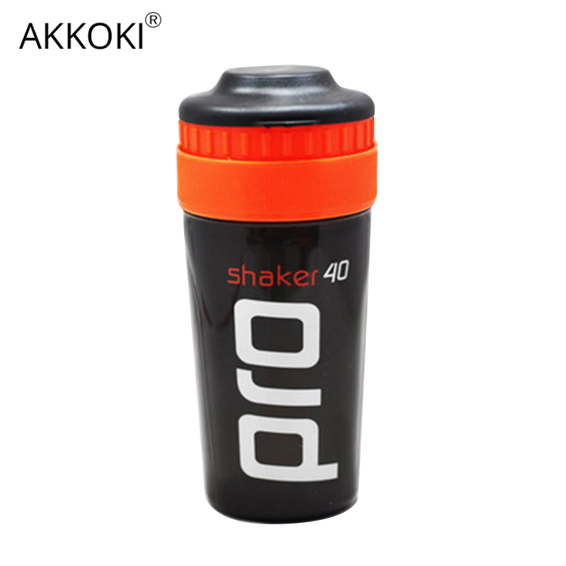 Shaker Pro 40 Whey Protein Sports nutrition blender mixer fitness gym Shaker For Protein Powder my water bottle 700 ml-in Water Bottles from Home & Garden on AliExpress