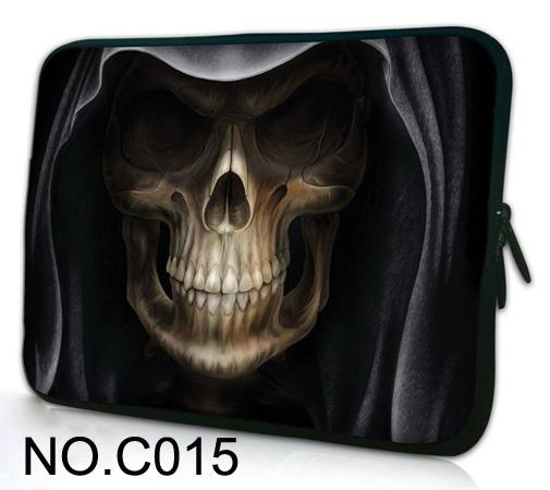 11 12 13 14 15 17 Laptop Bag 15.6 Men Women Skull Laptop Bag Case For Macbook Air 13 Bags Case for Macbook Pro 13 15