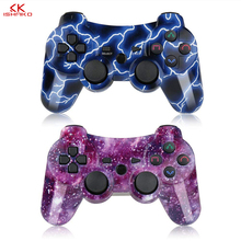 K ISHAKO For Sony gamepad ps3 joystick Dualshock Bluetooth Gamepad Joystick Wireless console for Ps3/ps2/pc game controller цена