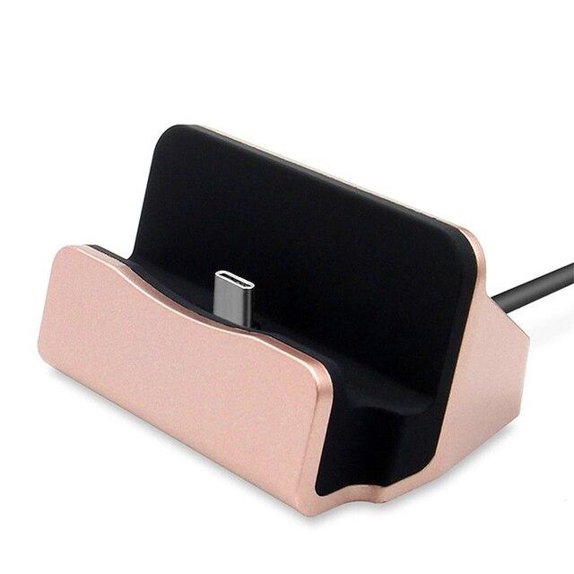 Original USB 3.1 Type-C Dock Charger For Sony Xperia XZ1 Compact XA1 Plus XZ Premium XZS Station Holder Type C Charging Cradle