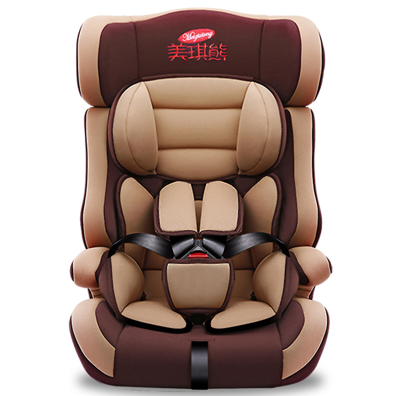 Car Child Safety Seat Baby Baby Car Portable Child 3C Seat 9 Months-12 Years Old Baby Car Seat HDPE Materia Three Point