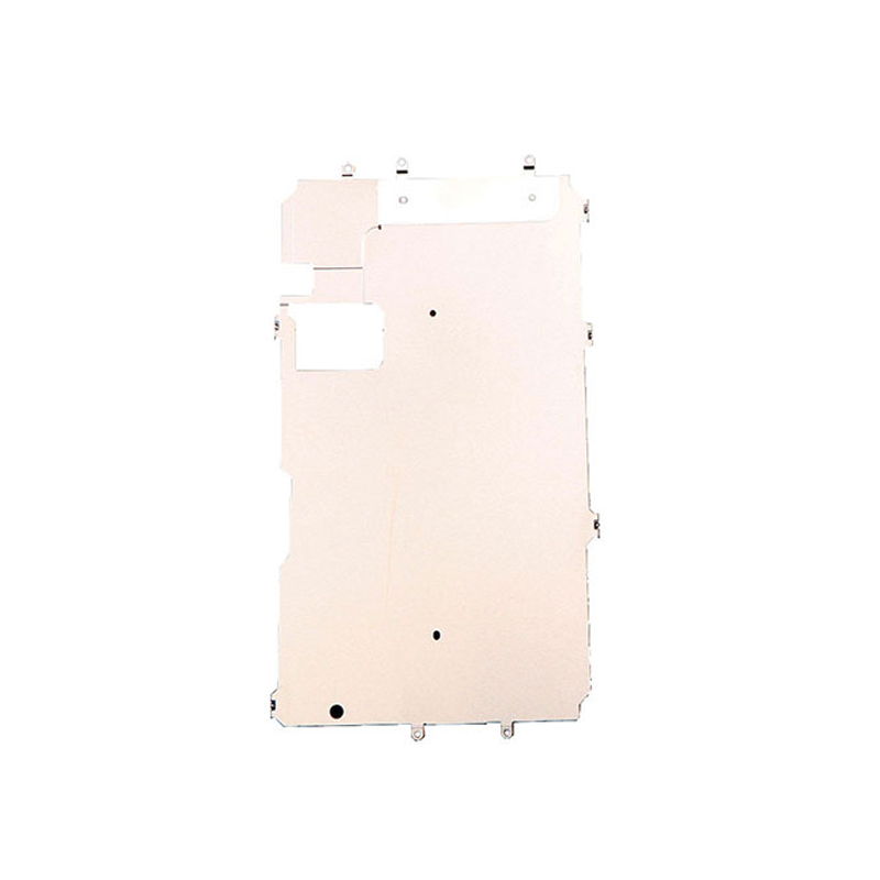 LCD Screen Back Metal Plate Shield with Home Button Expand Flex Cable Preinstalled Replacment Parts for iPhone 5C 5S 6 7 6S Plus image