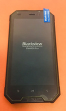Verwendet Original touchscreen + LCD display + Rahmen für Blackview BV4000 Pro MT6580A Quad Core 4,7 Zoll Freies verschiffen