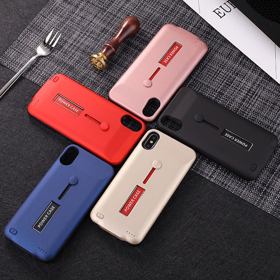 KHP Battery Charger Case For iPhone 6 6s 7 8 Plus 3500mAh4000mAh5000mAh Powerbank Case For iPhone X XR Xs Battery Charger Case (6)