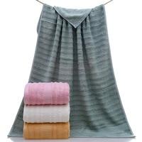 Bamboo Fiber Big Wave Bath Towel High and Low Hair 140*70 Increase Bath Towel