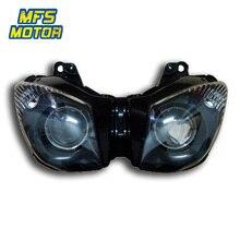 цена на For Kawasaki Ninja 09-13 ZX6R ZX636 08-10 ZX10R Motorcycle Front Headlight Head Light Lamp Headlamp Assembly 2008 2009 2010-2013