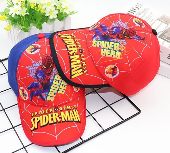 1 Stücke Beliebte Cartoon Avengers Spider-man Kinder Junge Schöne Mode Sonne Hut Casual Cosplay Baseball Cap Kinder Party Geschenke Z-012