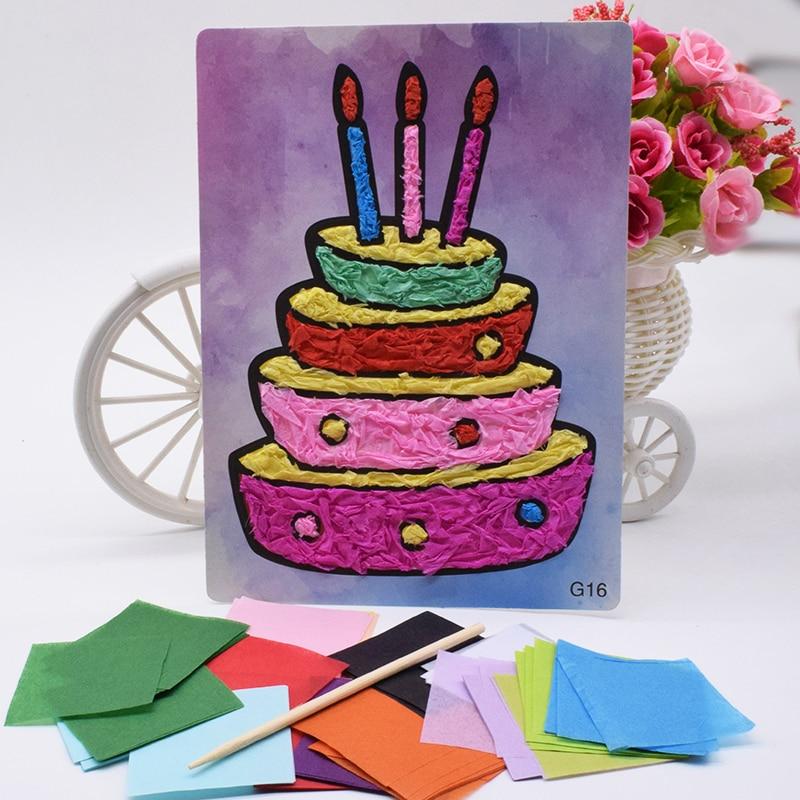 Crafts Toys For Children Felt Paper Diy Handicraft Kids
