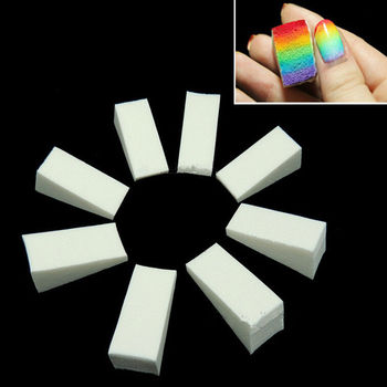 Nail Art Tools Gradient Nails Soft Sponges for Color Fade Manicure 8pcslot DIY Creative Nail Accessories Supply Маникюр