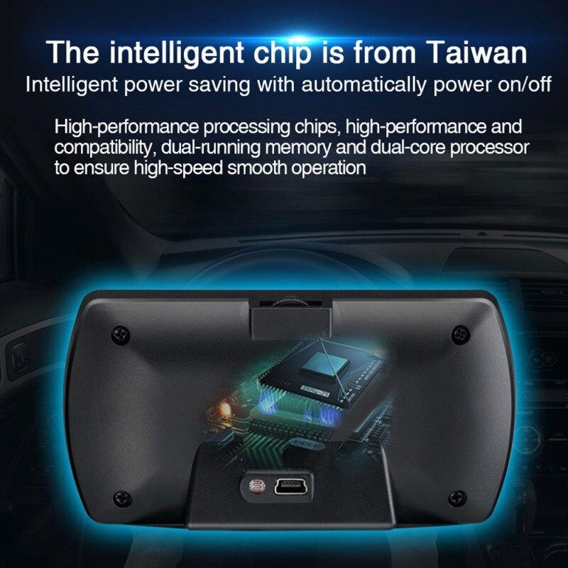 T800 Hud Voiture Head Up Display OBD GPS Sur-bord Voiture Ordinateur Intelligent Compteur Numérique HD OBD2 Affichage Compteur De Vitesse RPM Tacho Nouveau