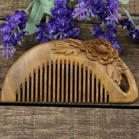 Natural Anti Static Sanders Wood Combs Massage Wooden Sandalwood Comb Hair Care Brush Comb Hairbrush Comb