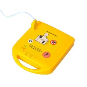 Image 5 - מיני AED אוטומטי Cardiopulmonary דפיברילטור החייאה הדרכה העזרה הראשונה מכשיר בספרדית + 1 החייאה מגן פנים