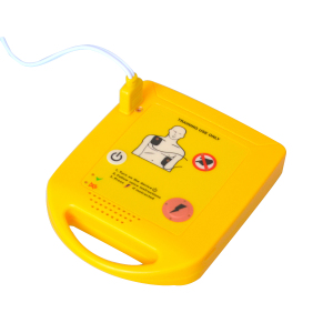 Image 5 - Mini AED Trainer Automated Cardiopulmonary Defibrillator Resuscitation Training First Aid Device In Spanish + 1 CPR Face Shield
