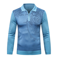 Billionaire Sweater wool men's Fashion England warm casual Business comfort zipper gentleman big size M 5XL free shipping