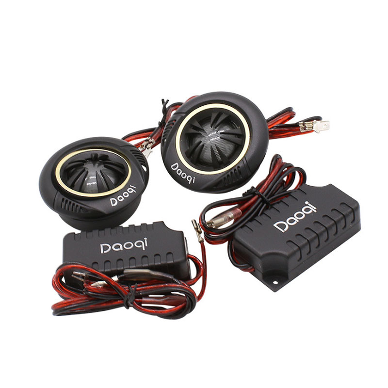 hot sale component high power  car dome tweeter speakers  crossover divider  vehicle