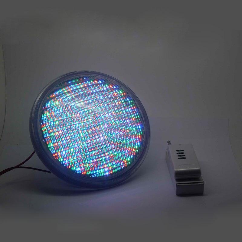 LED Par56 Lampe De PVC + ABS Matériel 54 w Sous-Marine Lumière AC12V Pour Votre Piscine Fontaine Jardin Cour