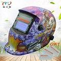 Masque de soudeur caméléon batterie solaire et remplacée casque de soudage monstre PP auto assombrissement contrôle extérieur tig HD03-2233FF