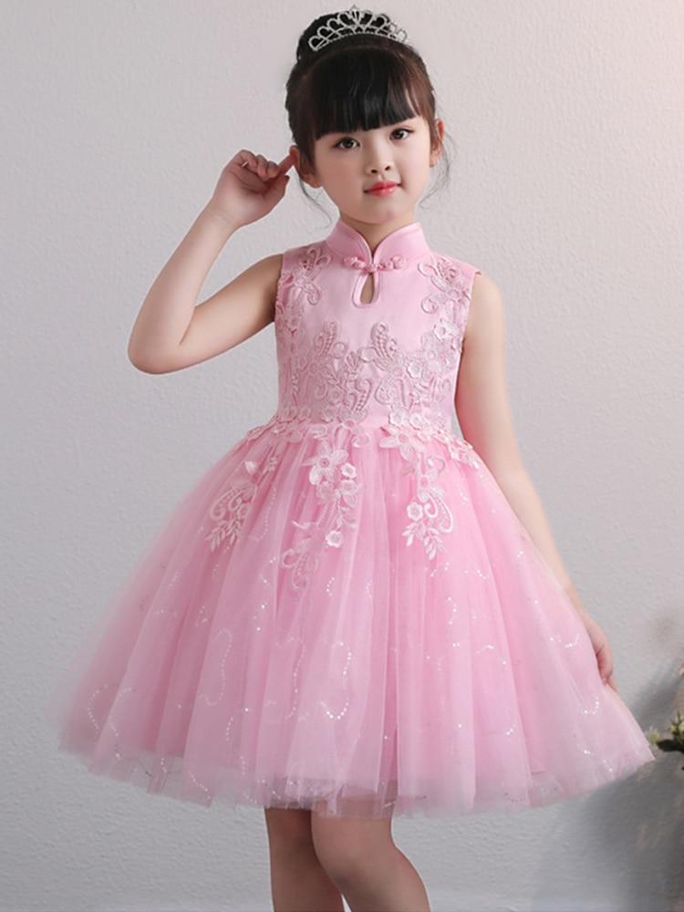 É yiiya vestido azul para menina crianças